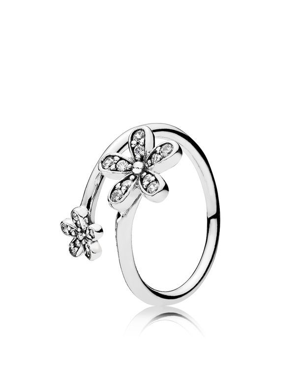 5ab0396c0 ... sale pandora ring sterling silver dazzling daisies d4c14 d6dfc ...