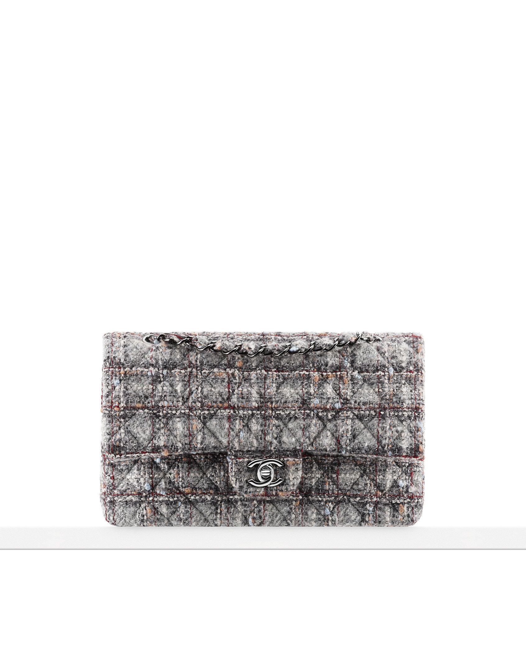 553e543044d0de Tweed classic flap bag - CHANEL | Bags | Chanel handbags, Chanel ...