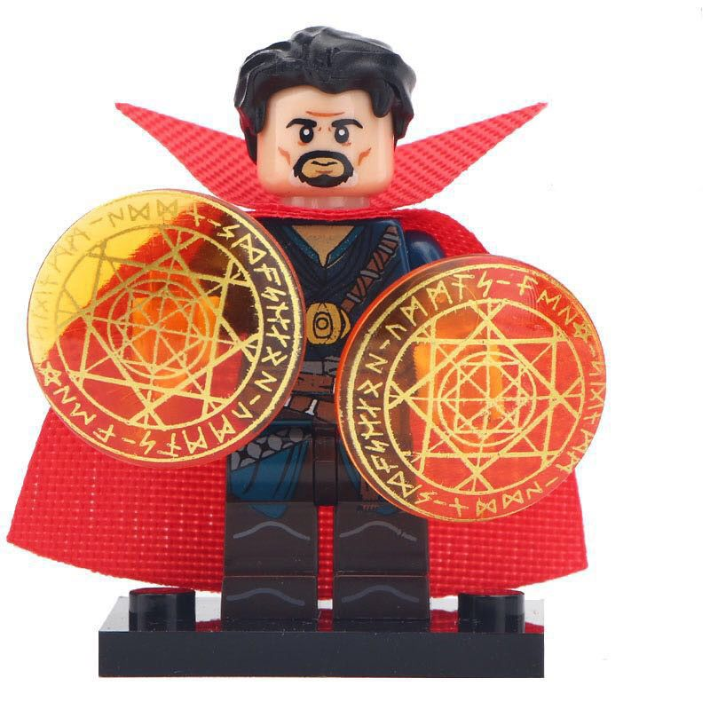 Doctor Strange Marvel Universe Avengers Infinity War Lego MOC Minifigure
