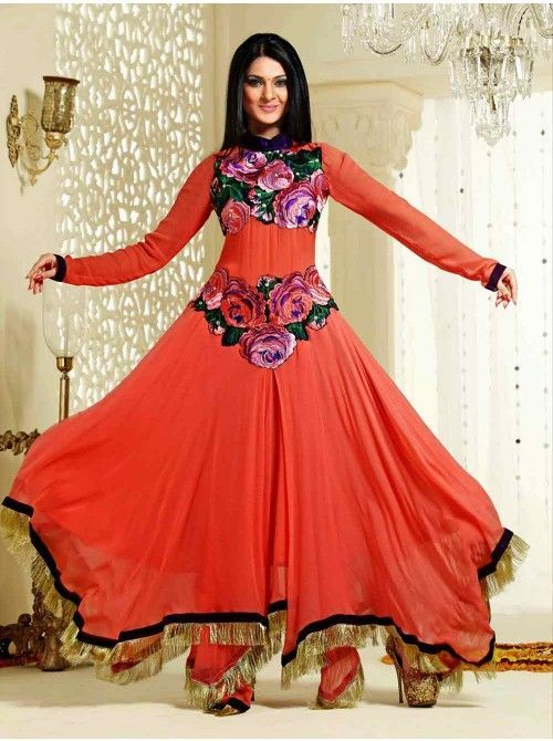 Latest Asian Umbrella Style Dresses \u0026 Frocks Designs 2018,19