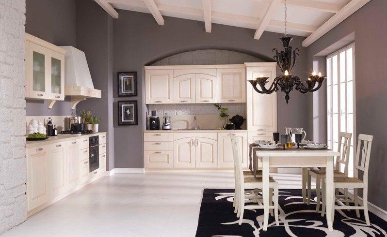 Tre Bellissime Soluzioni Compositive Per La Cucina Mod.Olivia Di Gentili  Cucine. Dietro Una Facciata Romantica Si Trova Un Cuore Moderno.
