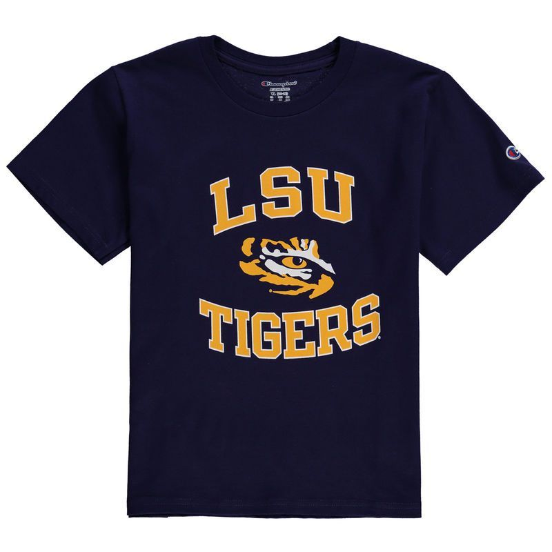 Lsu tigers champion youth circling team jersey tshirt