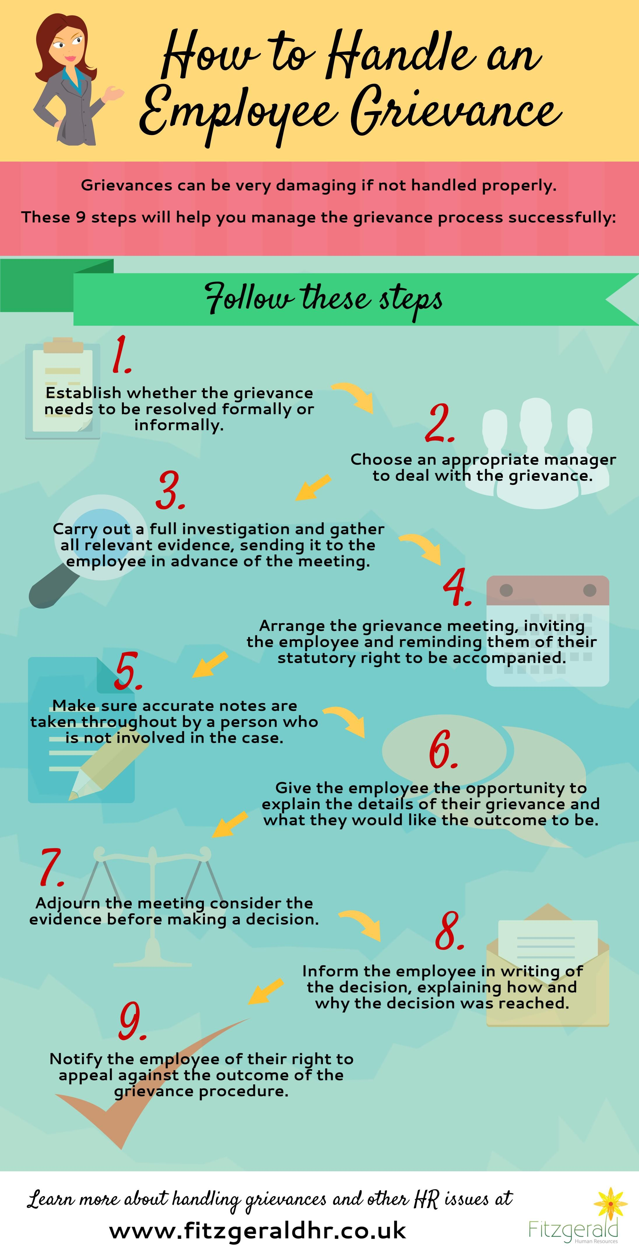how to handle an employee grievance
