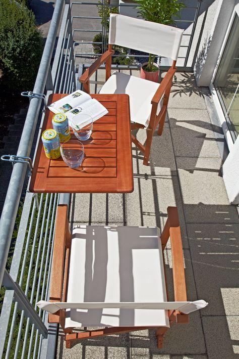 Sunfun Diana Balkon Hangetisch Tisch Balkon Klapptisch Balkon