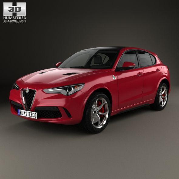 Alfa Romeo Stelvio Quadrifoglio 2018 #Romeo, #Alfa