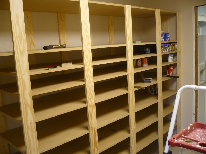 Food Storage Shelves I Havent Seen Any Diy Plans Food