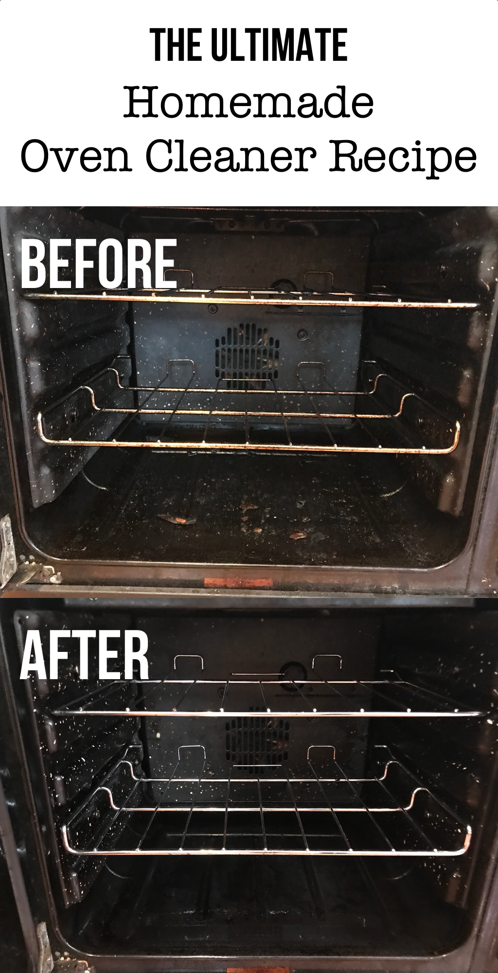 How to Make NonToxic Homemade Oven Cleaner Homemade