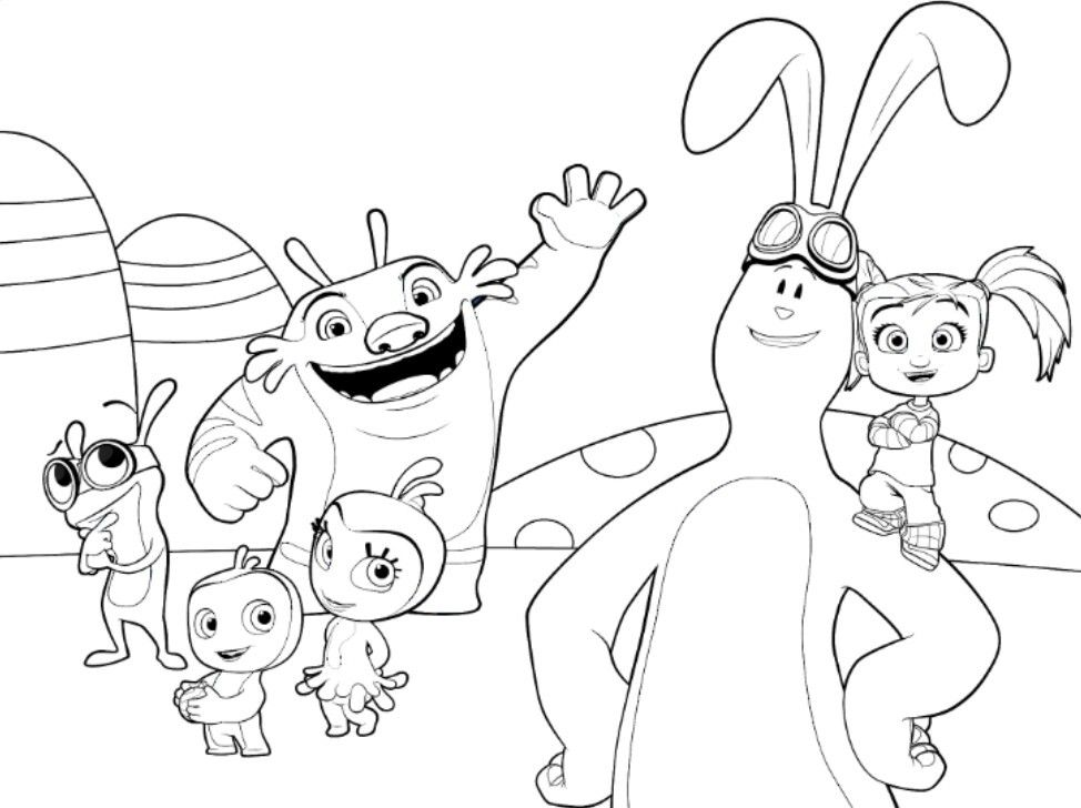 Kate and mim mim coloring page | Riley\'s birthday | Pinterest