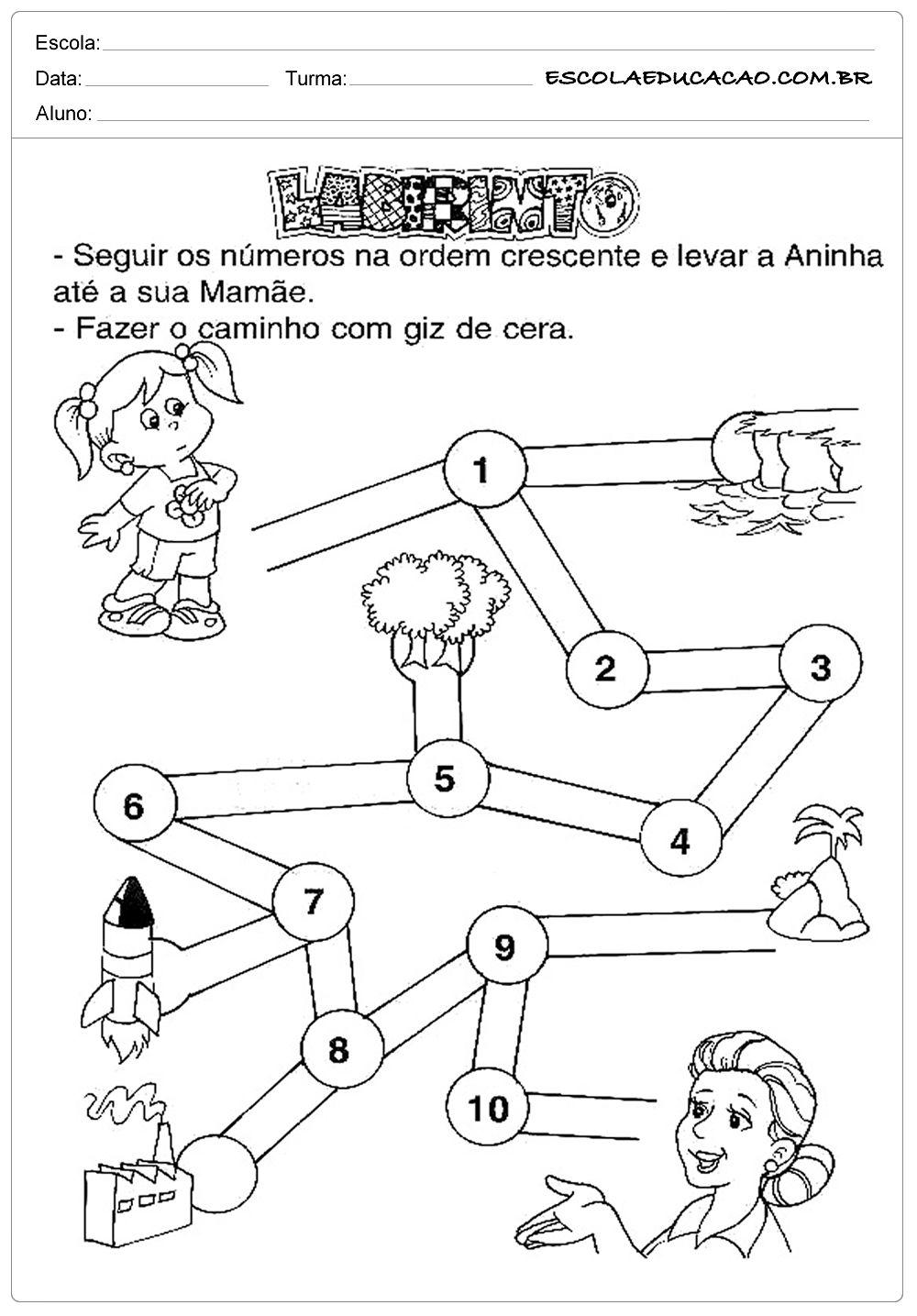 Atividades Dia Das Maes Educacao Infantil Labirinto