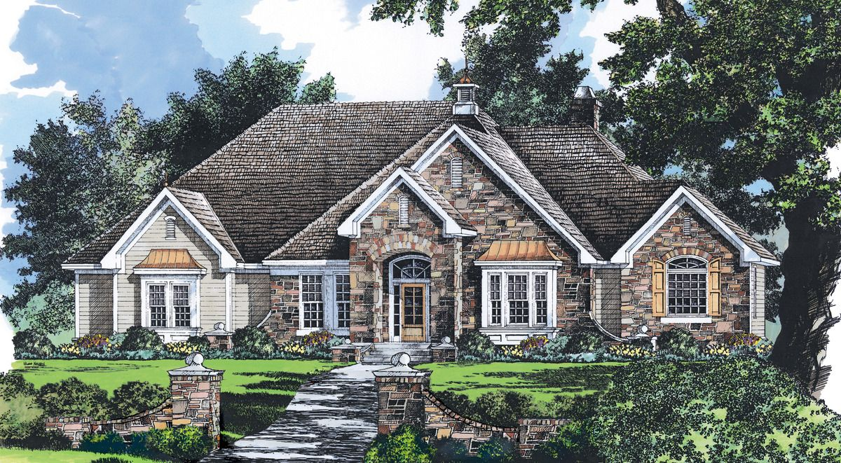 house plan the charlevoix by donald a  gardner architects
