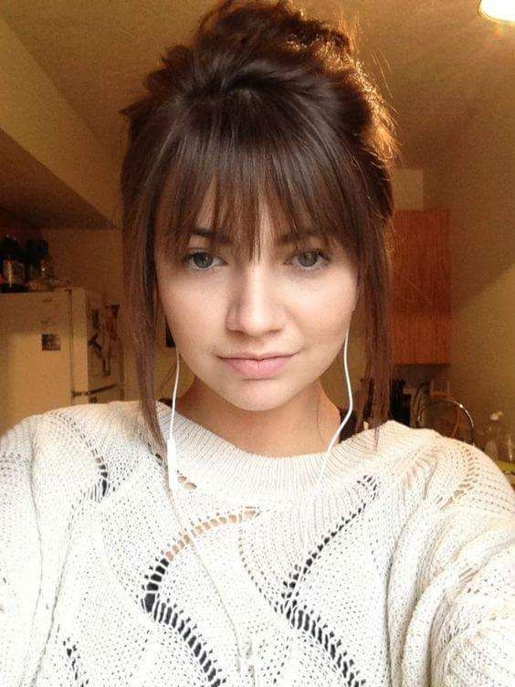 Amazing Cute Bangs