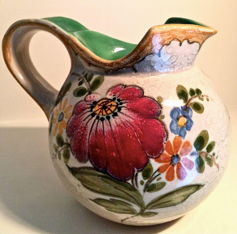 Royal gouda art pottery pitcher 2654 bertino pattern holland by royal gouda art pottery pitcher 2654 bertino pattern holland by yatsdomino on etsy reviewsmspy