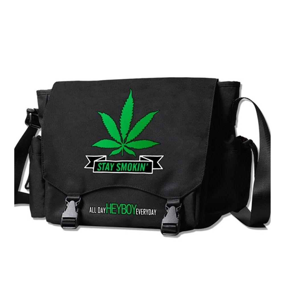 Fanny-Pack Hemp Leaf Weed D 3 Waist Bum Bags for Women