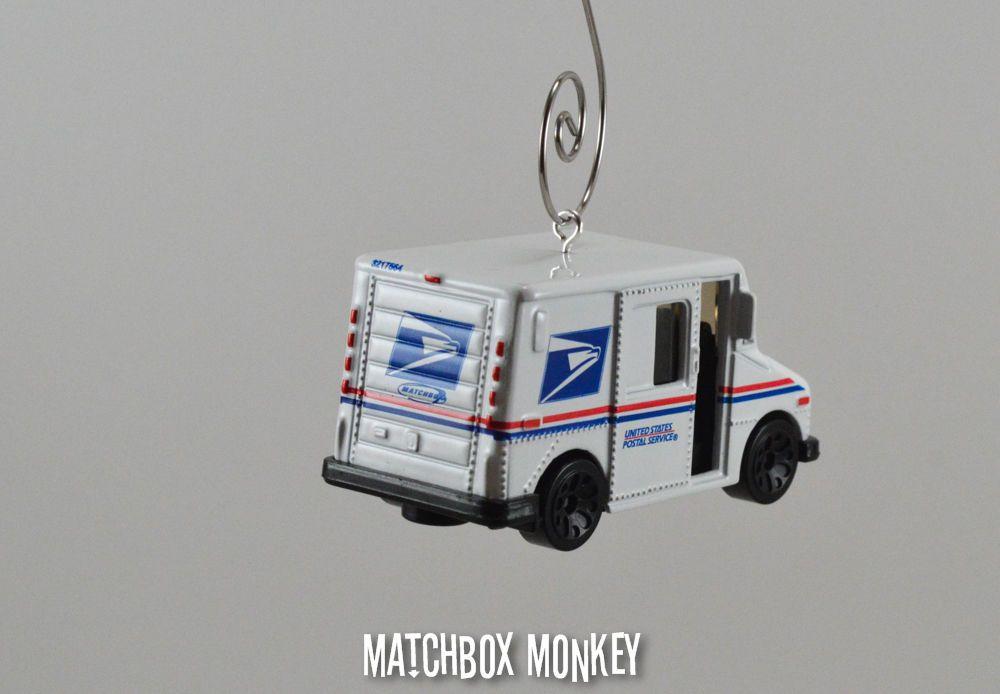 USPS US Postal Service Mail Delivery Truck Custom 1/64