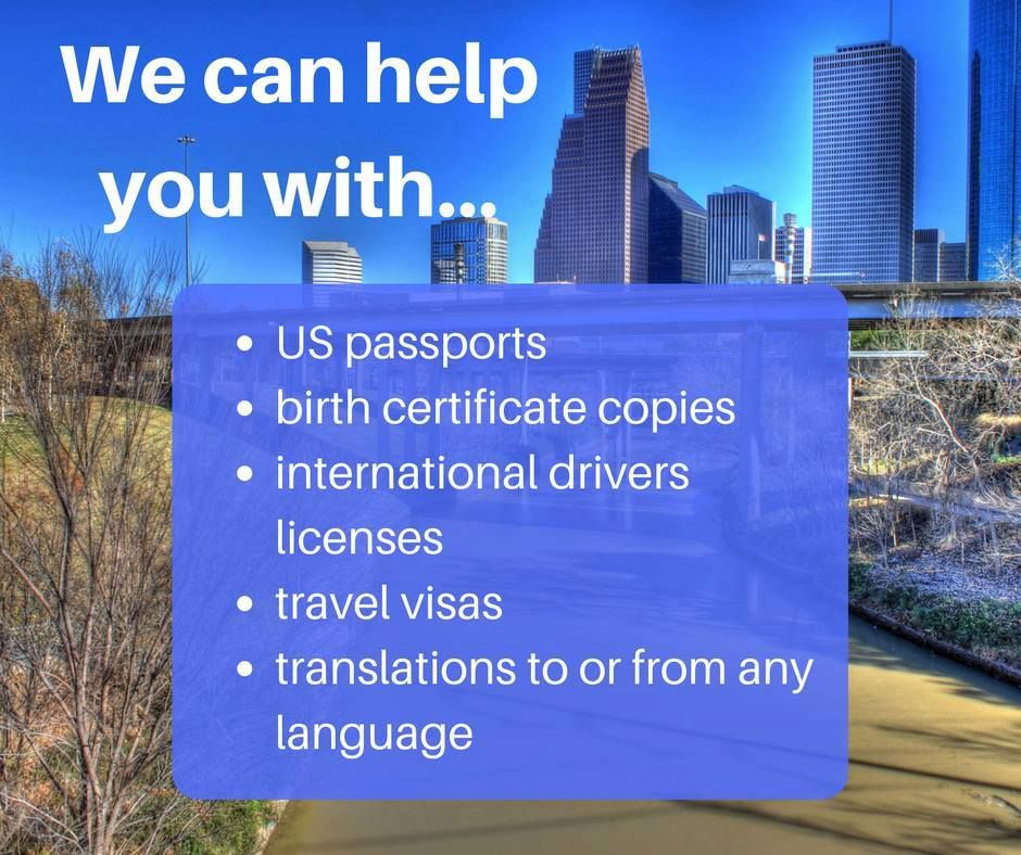 Good Morning, #Houston! Weu0027re open Saturday too - call 713-874-1420 - copy translate mexican birth certificate