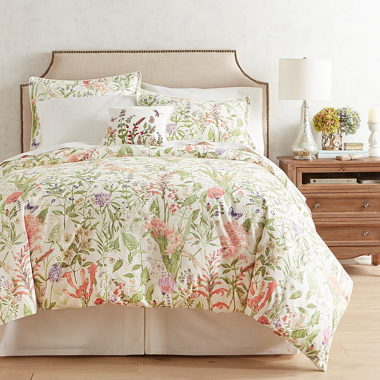 Toile Bedding And Curtains