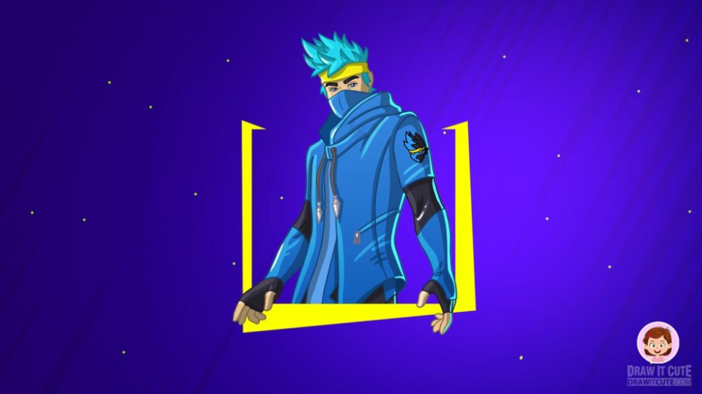 Ninja Fortnite Chapter 2 wallpaper Draw it cute