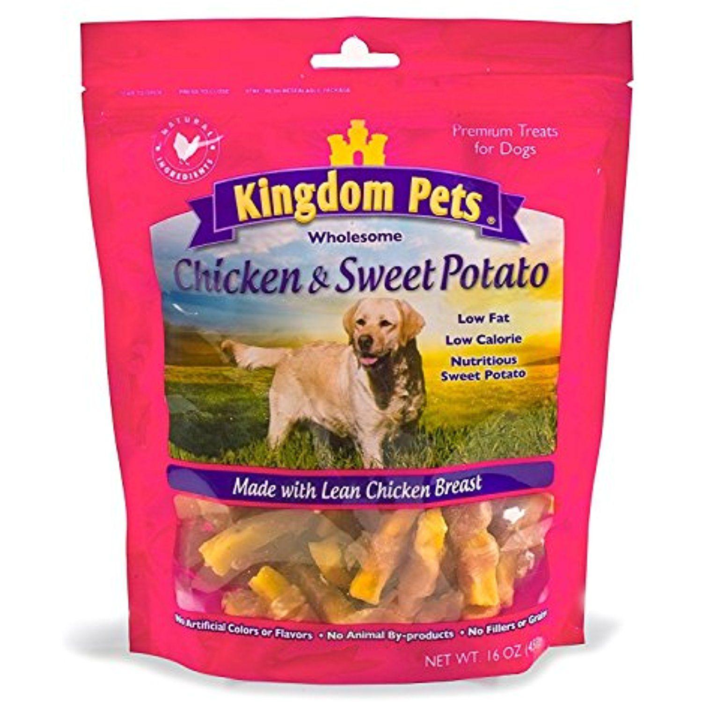Kingdom Pets Premium Dog Treats, Chicken & Sweet Potato