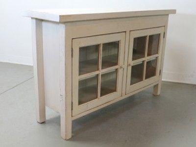Charmant Small Mediau2013Cabinet With Glass Doors 204c