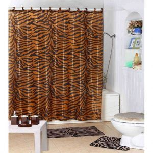 Tiger Shower Curtain Hooks