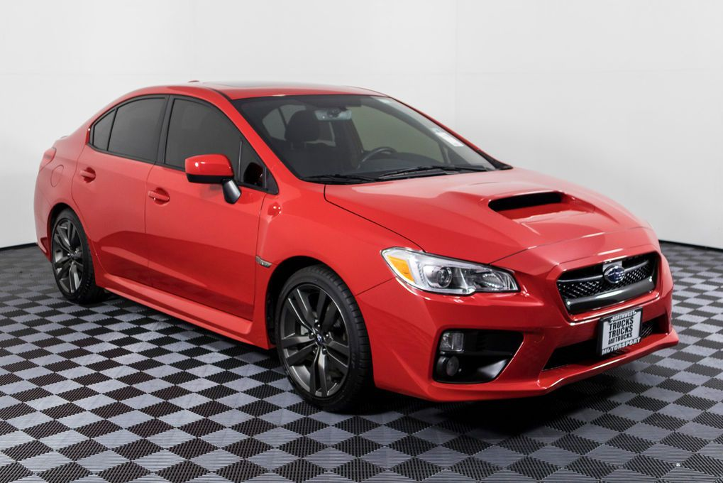 Used 2017 Subaru WRX Premium AWD Sedan For Sale 49496