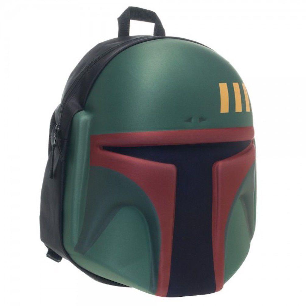 Star Wars Boba Fett 3D Moulded Backpack Full Size Back Pack Book ...