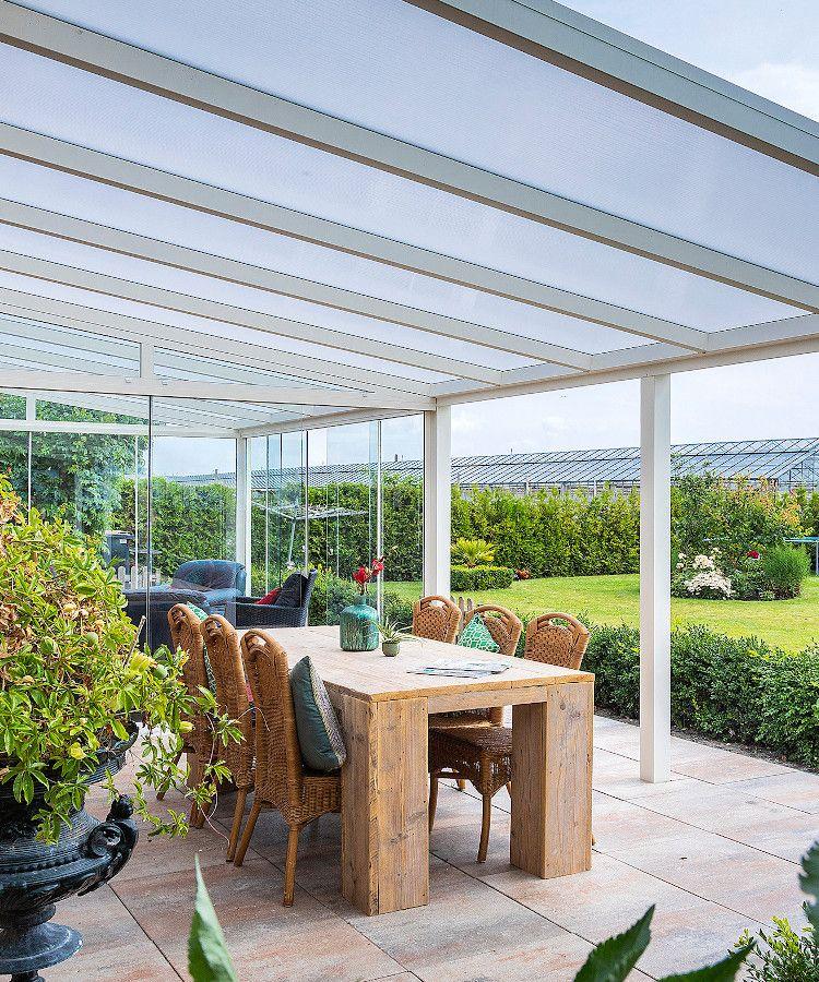 Aluminium Terrassendächer, Carports und Wintergärten. in