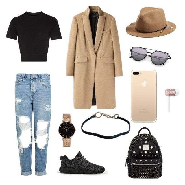 """polyvore"" by jesy-smith on Polyvore featuring mode, Topshop, DKNY, adidas, rag & bone, MCM, CLUSE, Prada et Beats by Dr. Dre"