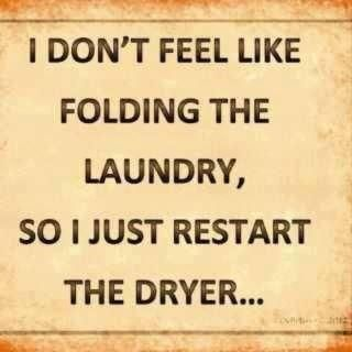 I've actually taken clothes from closet, splashed H2O on them & then tossed in dryer.  I hate to iron!