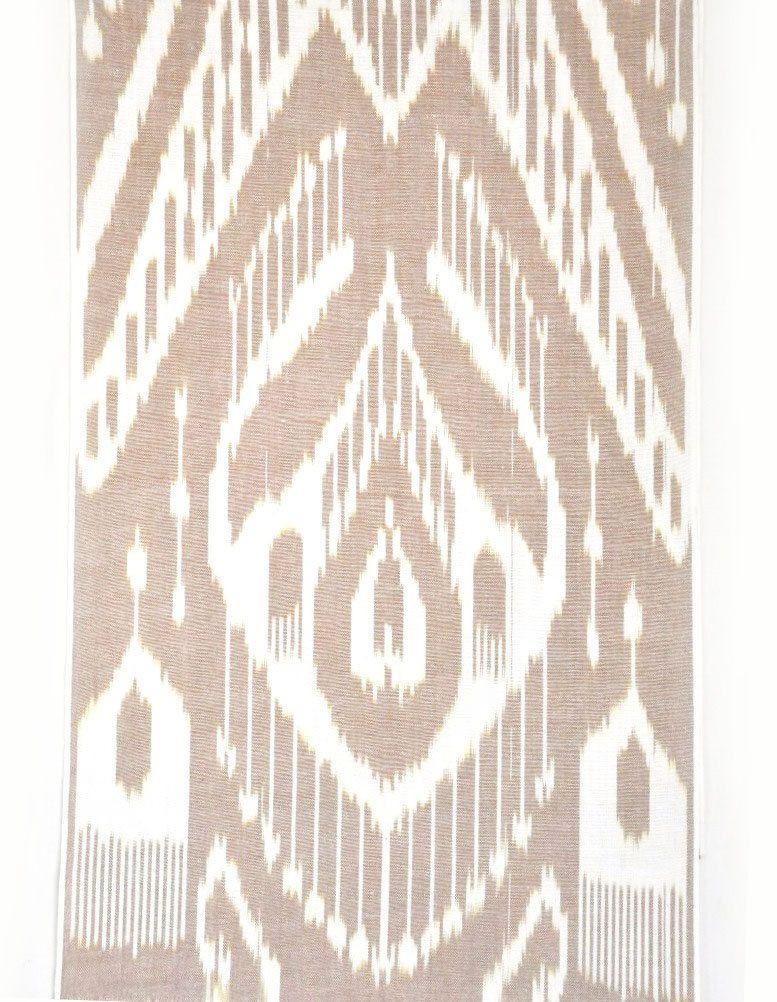 ISM033 Uzbek traditional tense cotton woven ikat fabric by meter ethnic Tribal boho fabric