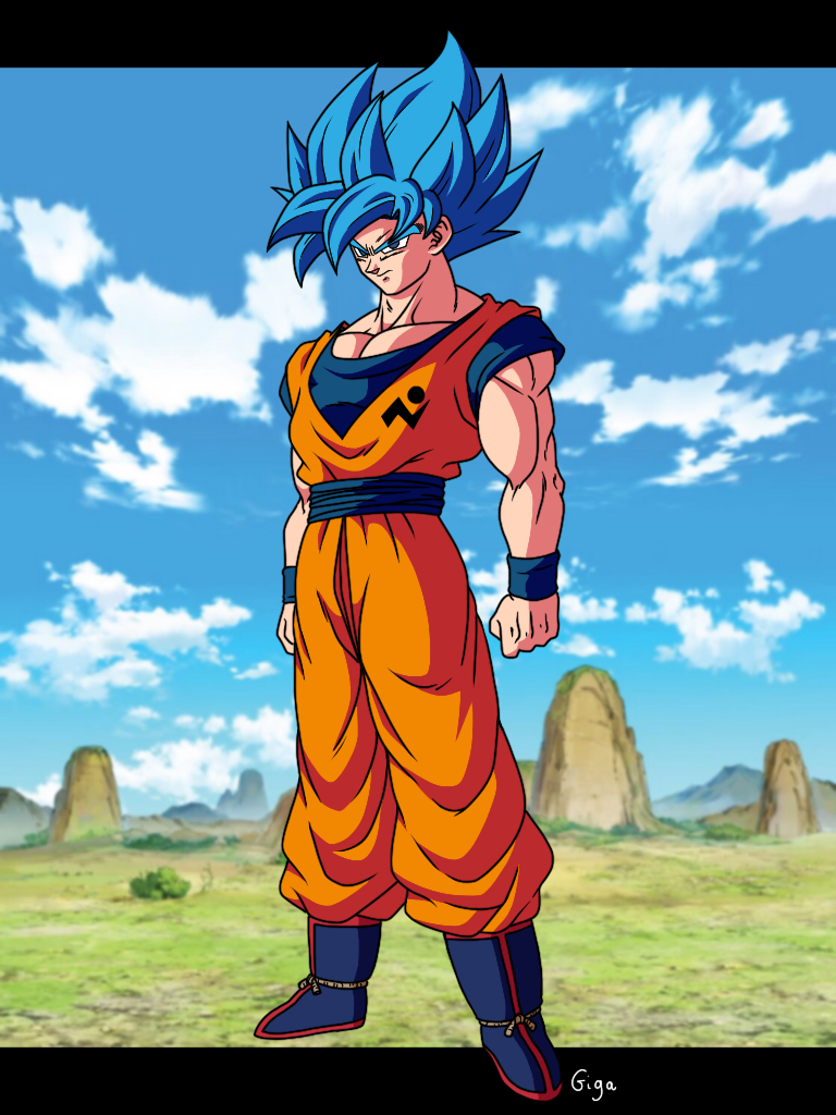 Goku Blue 90 S Style By Gigagoku30 On Deviantart Dragon Ball Super Manga Anime Dragon Ball Super Dragon Ball Artwork