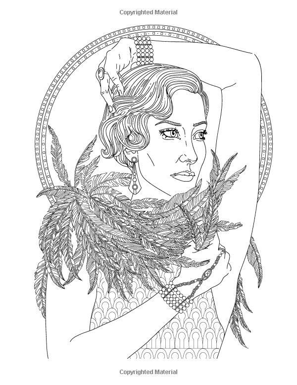 Glamourista: un libro para adultos para colorear de moda, joyas y ...