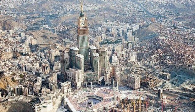 Amazing Makkah Clock Royal Tower, Cost US$15 billion http ...