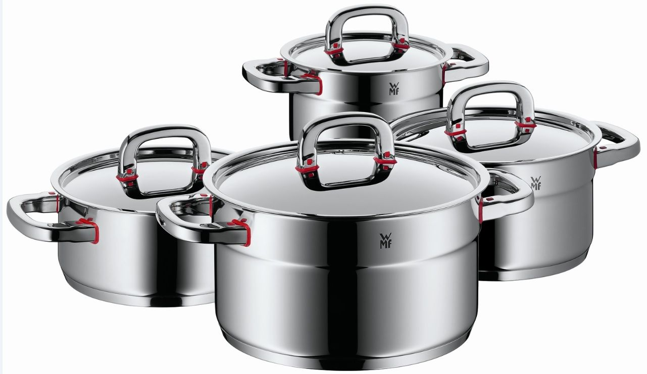 H Brabeymenh Gia To Design Ths Seira Premium One Ths Wmf Toy Sxediasth Peter Ramminger Cookware Set Cookware And Bakeware Wmf