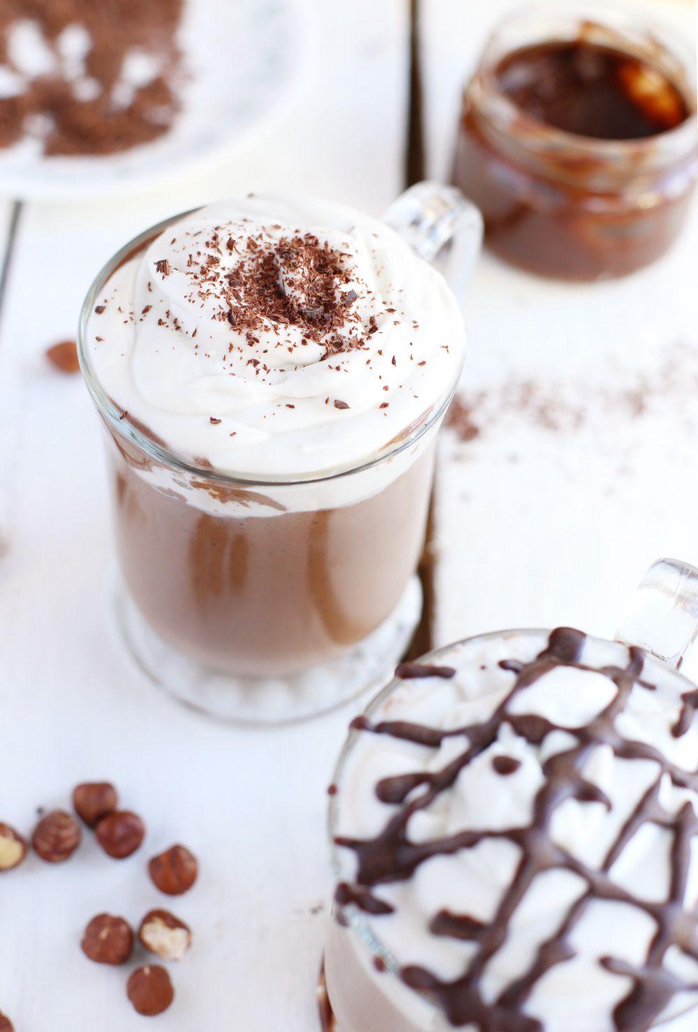 Diy Nutella Hot Chocolate Vegan Recipe Nutella Hot Chocolate Nutella Chocolate Nutella