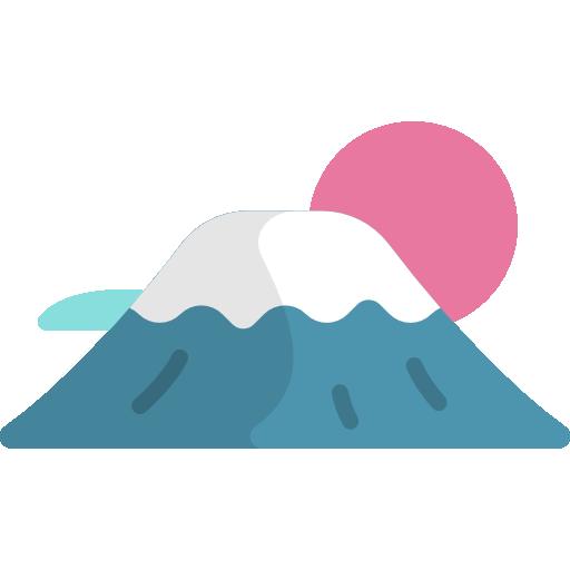 Fuji Mountain Free Vector Icons Designed By Freepik Japanese Pop Art Japan Icon Free Icons