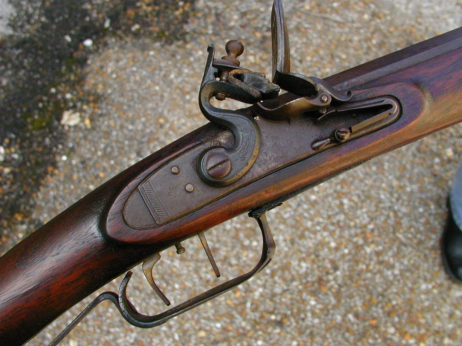 how to make a flintlock rifle