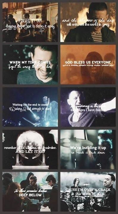 Linkin Park Lyrics And Videos Linkin Park Linkin Park Chester Chester Bennington