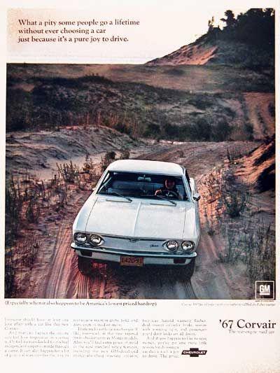 1967 Chevrolet Corvair 500 Sport Coupe Classic Vintage Print Ad Chevrolet Corvair Sports Coupe Chevrolet