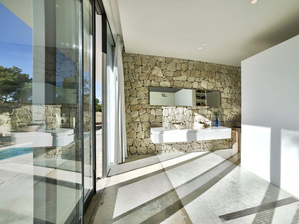 Amazing bathroom, located next to the #pool! #CostaBlanca #realestate #home #homeforsale #luxury #luxuryhomes #homedesign #design #interior #interiordesign #houseoftheday #photooftheday