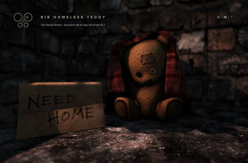 ***Homeless Teddy Exclusive Gift for the Gacha Show!***