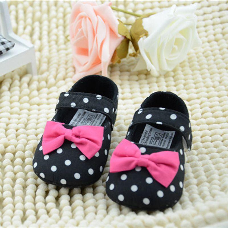 Newborn Baby Cartoon Anti-Slip Shoes Girls Rabbit First Walkers Soft Sole Shoes Voberry