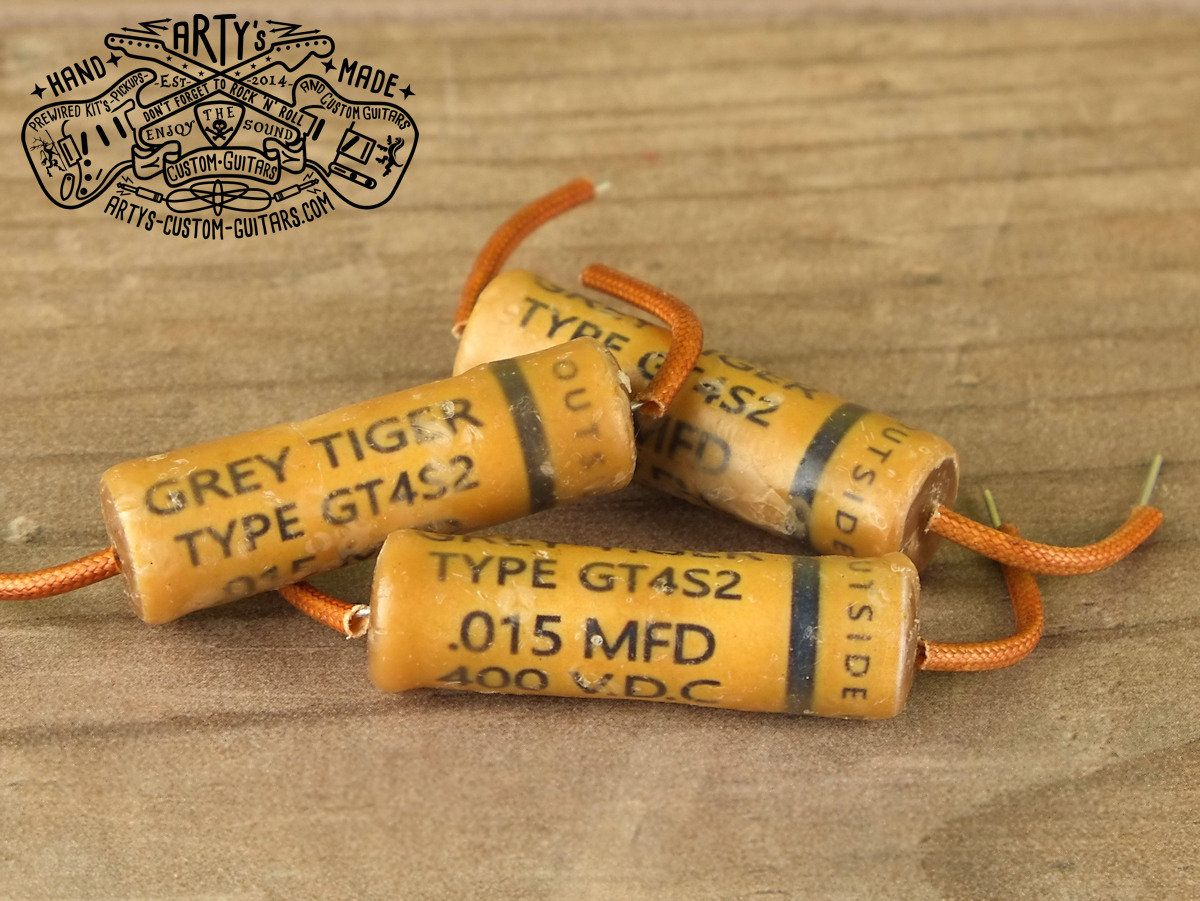 Grey Tiger 15 Nf 015mfd 015uf Repro Capacitor Gibson Les Paul Sg Wiring And 50 S Kondensator Artys