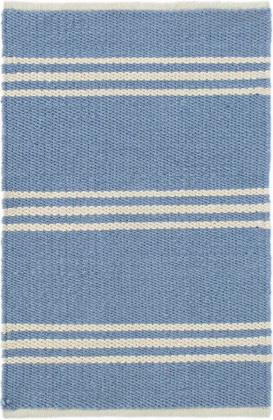 Lexington French Blue Ivory Indoor Outdoor Rug Dash Amp Albert Indoor Outdoor Rugs Outdoor Rugs Rugs