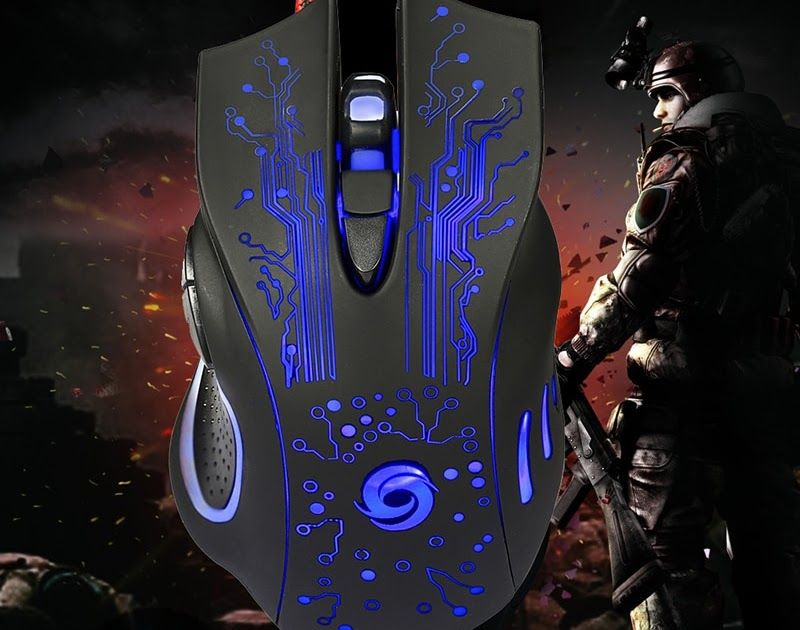 3200DPI LED 7 Buttons USB Wired Pro Gaming Mouse For PC For Laptop game Computer
