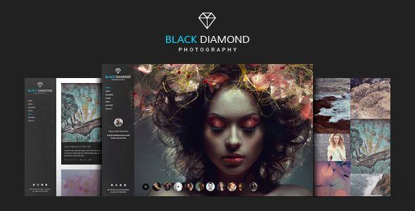 DIAMOND - Photography WordPress Theme | Pinterest