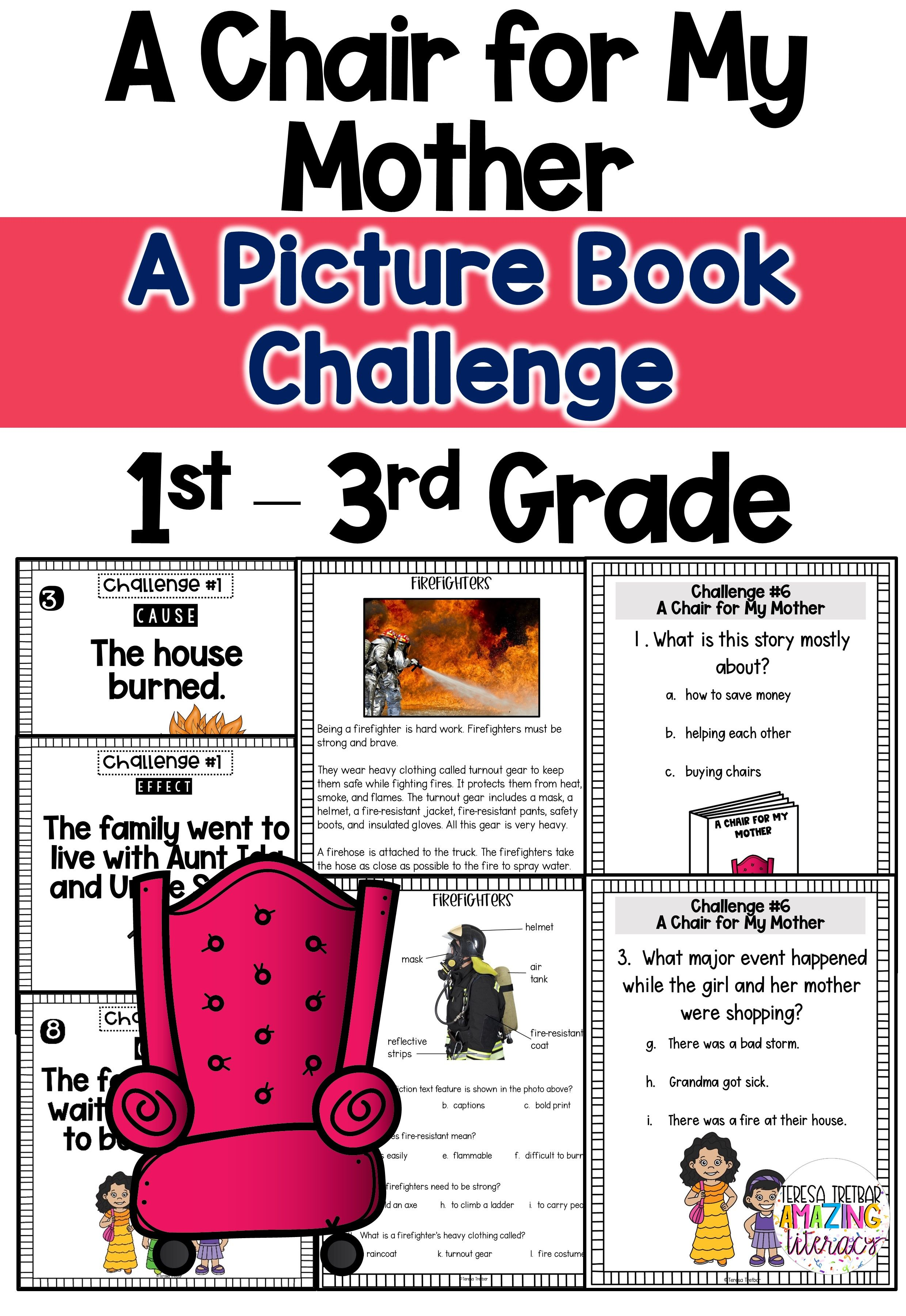 A Chair For My Mother In 2020 Nonfiction Passages Read Aloud Activities Simple And Compound Sentences