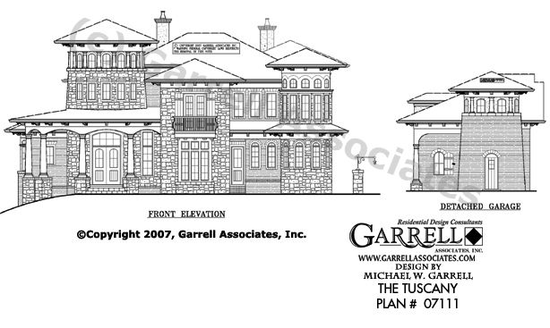 Tuscany House Plan 07055 Front Elevation Florida Style House Plans Italianate House Plans Tuscany House Mediterranean Homes Mediterranean Homes Exterior