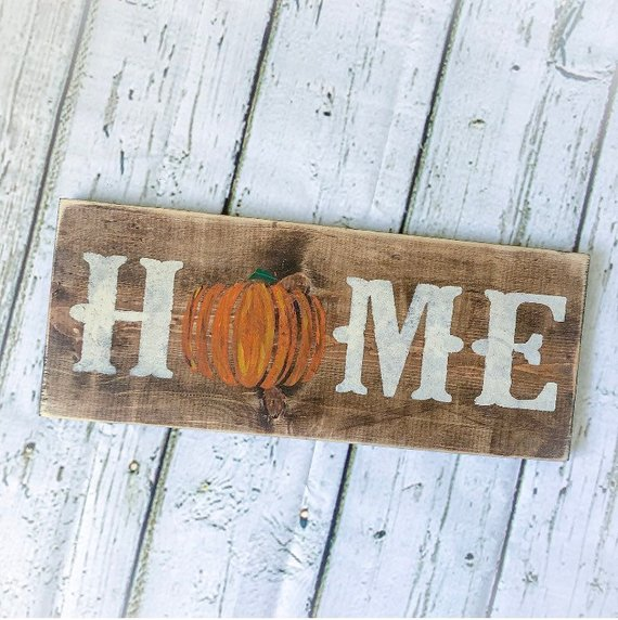 Hey I Found This Really Awesome Etsy Listing At Https Www Etsy Com Listing 593488883 Wood Fall Sign Fall D Pumpkin Fall Decor Fall Wood Signs Fall Decor Diy