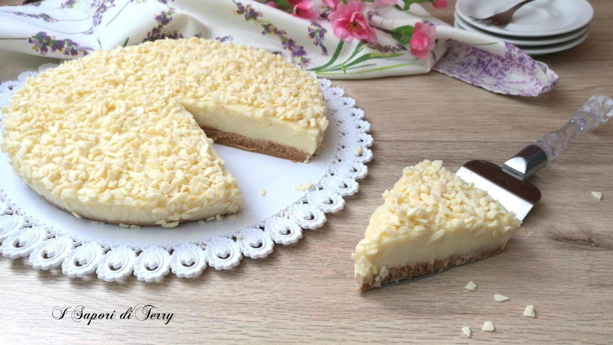 Photo of Torta+fredda+al+cioccolato+bianco Le voglie sembrano pruriti